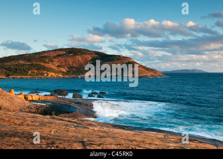 Thistle Cove at sunset. Cape Le Grand National Park, Esperance, Western Australia, Australia - Stock Photo