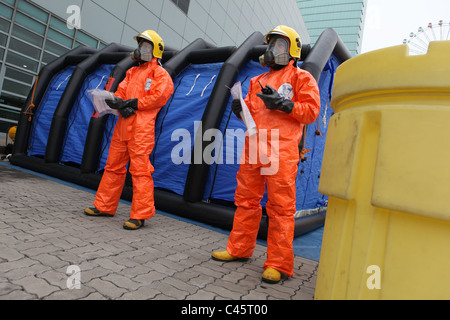 Radioactivity protection and control - Stock Photo