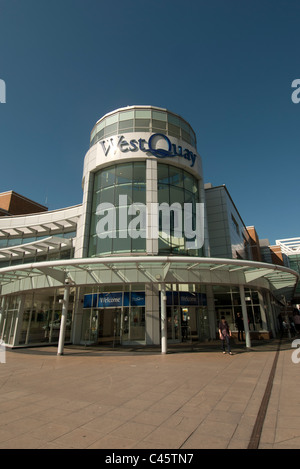 West Quay Shopping centre Southampton Hampshire UK - Stock Photo