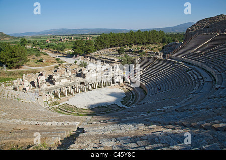Turkey, Ephesus, Theater of Miletus - Stock Photo