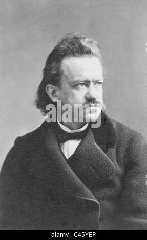 Albert Emil Brachvogel, 1865 - Stock Photo