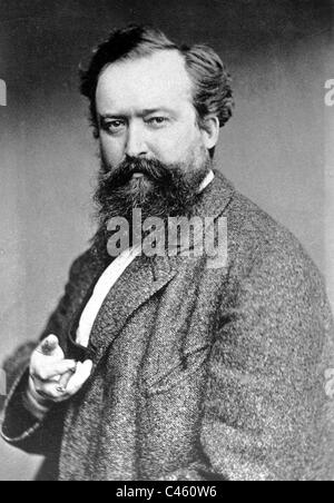 Wilhelm Busch, 1875 - Stock Photo