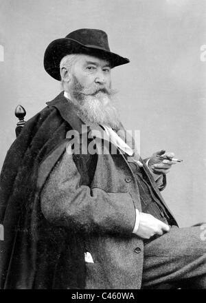 Wilhelm Busch, 1902 - Stock Photo