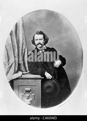 Wilhelm Busch, 1860 - Stock Photo