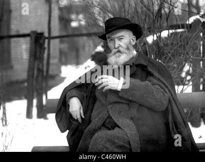 Wilhelm Busch, 1907 - Stock Photo