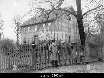 Wilhelm Busch, 1899 - Stock Photo