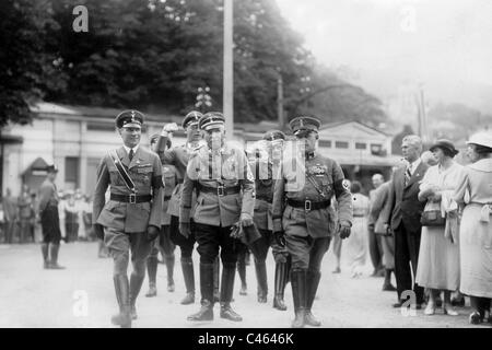 Carl Eduard of Saxe-Coburg and Gotha with staff - Stock Photo