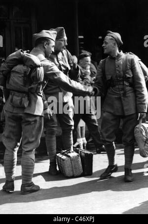 Second World War: Western Front. The Netherlands under German occupation, 1940 - 1944 - Stock Photo