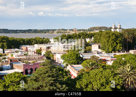 Barrio Historico, Colonia del Sacramento, Uruguay - Stock Photo