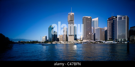 Brisbane panoramic cityscape - Stock Photo