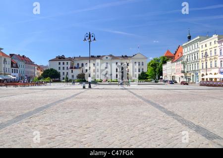 Bydgoszcz city in Poland - Stock Photo