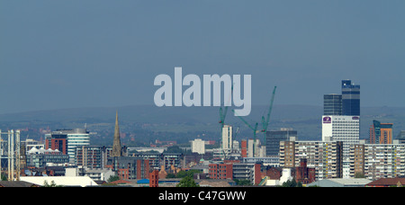 Manchester and Salford Quays - Stock Photo