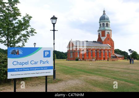 The Chapel Royal Victoria Country Park Netley Southampton - Stock Photo