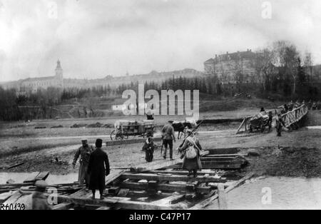 First World War: Russian troops in occupied Lviv, 1914 - Stock Photo