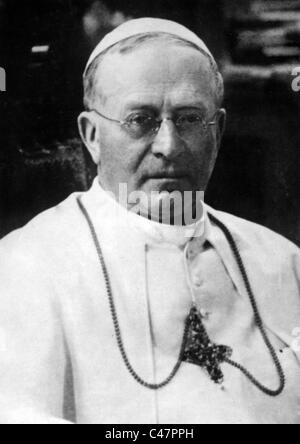 Pope Pius XI - Stock Photo