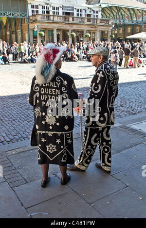 pearly king and queen - Stock Photo