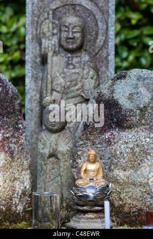 Garden, Large Stone Jizo