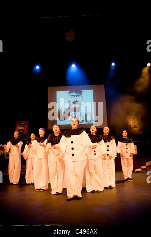 An amateur production of Oh What a Lovely War - Aberystwyth Arts Centre youth and community theatre , UK - Stock Photo
