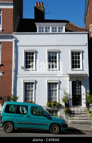 The White House, No 10 Highgate High Street, Highgate, London, England - Stock Photo
