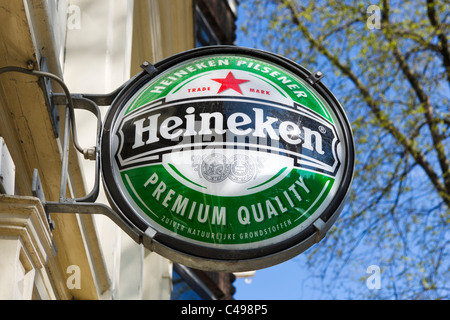 Heineken sign amsterdam stock photo royalty free image 77794930 alamy - Heineken amsterdam head office ...