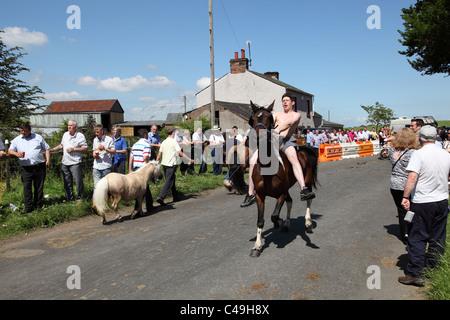 Appleby Horse Fair, Appleby-In-Westmorland, Cumbria, England, U.K. - Stock Photo