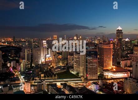 Bangkok skyline, Thailand - Stock Photo