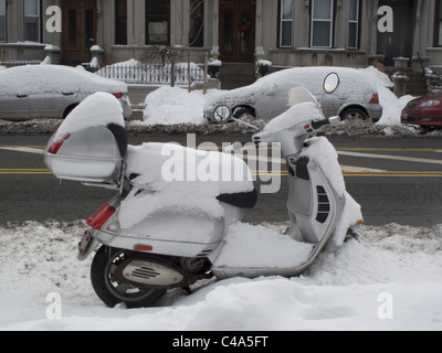 Covered Motor Scooter Stock Photo Royalty Free Image