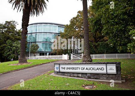 Auckland University entrance, New Zeland Stock Photo