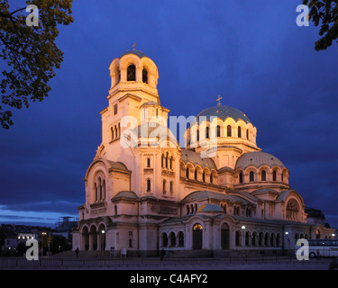 Bulgaria, Sofia, Alexander Nevsky Cathedral, - Stock Photo