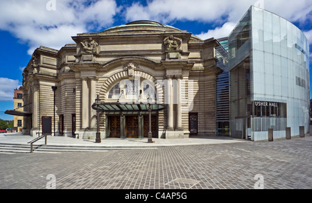Usher Hall Edinburgh Scotland - Stock Photo