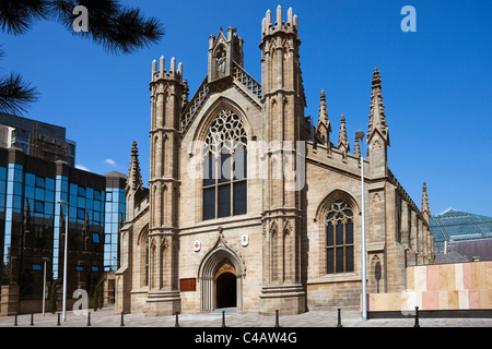 Saint Andrews Cathedral, Clyde Street, Glasgow, Scotland.The church has recently been renovated. - Stock Photo