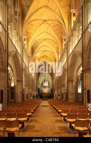 England London Southwark Cathedral Interior - Stock Photo