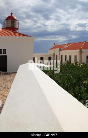 Cape St. Vicente Cabo de Sao Vicente Algarve Portugal - Stock Photo