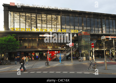 berlin, Zoologischer Garten, bahnhof, architecture, arrival, berlin, big, building, capital, central, city, germany - Stock Photo