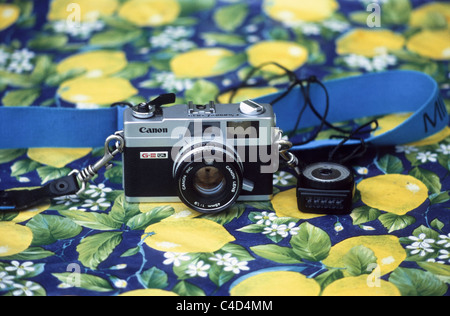 Canon Canonet - Stock Photo