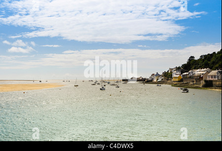 The coastline of Aberdovey (Aberdyfi) in Wales. - Stock Photo