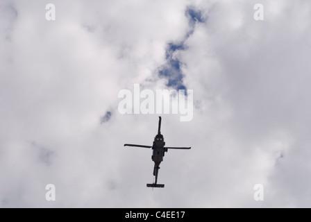 US Navy Sikorsky BLACK HAWK helicopter flying overhead. © Craig M. Eisenberg - Stock Photo