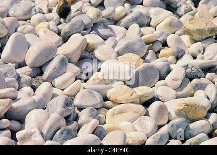 Kieselstrand Toskana - pebble beach Tuscany 06 - Stock Photo