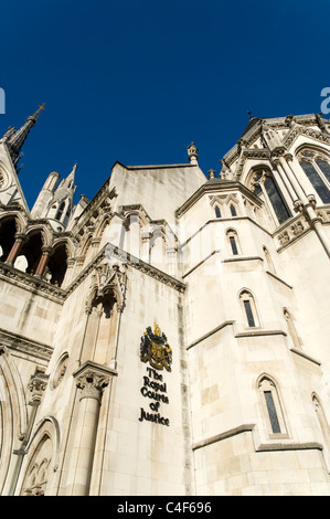 High Court of Justice, London, UK - Stock Photo