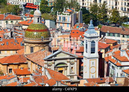 Europe, France, Alpes-Maritimes (06), Old Town of Nice, Cathedral Sainte Reparate - Stock Photo
