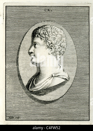 Classical portrait of a man - Stock Photo