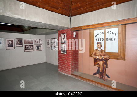 Gandhi Museum. Sabarmati Ashram. Ahmedabad. India - Stock Photo