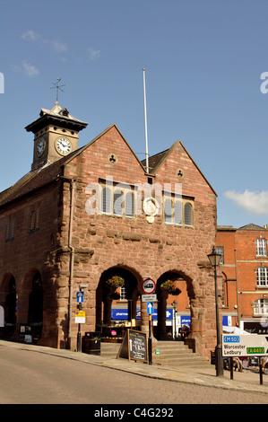 The Market House, Ross-on-Wye, Herefordshire, England, UK - Stock Photo