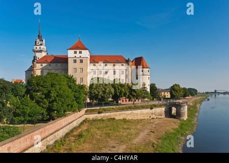 Schloss Hartenfels, Torgau | Hartenfels Castle, Torgau - Stock Photo