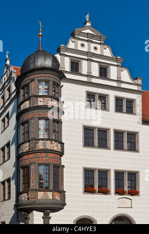Rathaus Torgau | Torgau, town hall - Stock Photo