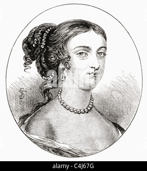 Rachel Wriothesley, Lady Russell, c. 1636 – 1723. English noblewoman, heiress and author. - Stock Photo