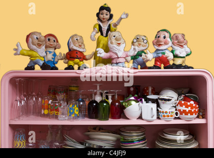 snow white - Stock Photo
