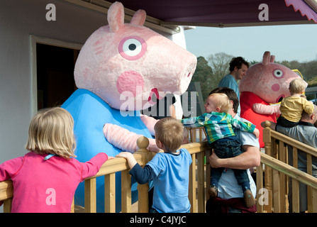 Peppa Pig world at Paultons Family Theme Park near Southampton, England , UK - Stock Photo