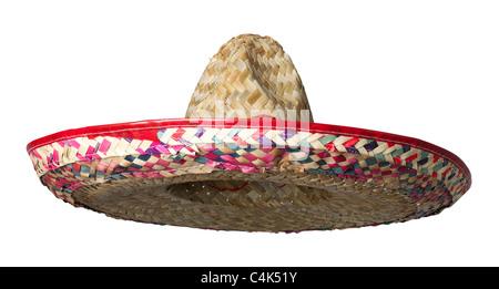 Sombrero straw hat - Stock Photo