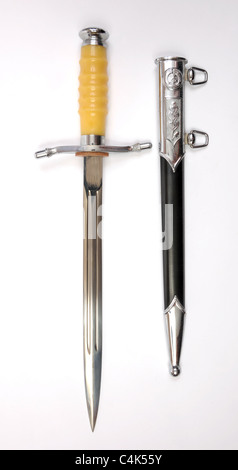 East German dagger as used for parade and walking out by NVA officer's. - Stock Photo